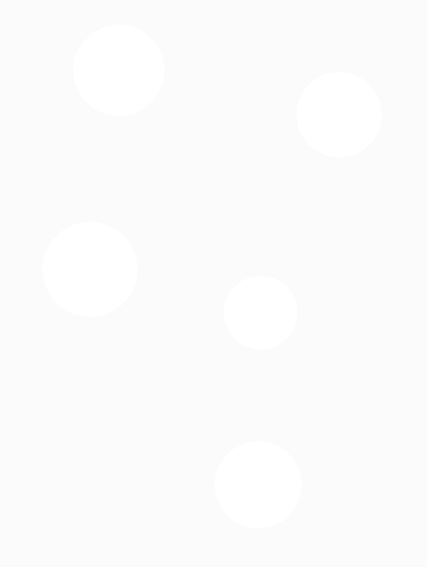Cascading decorative dots